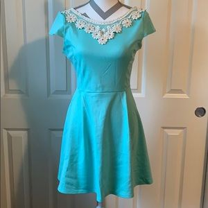 ModCloth Akin to Audrey Dress in Mint XL 👗